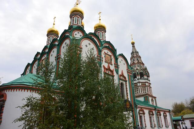 église saint nicolas des tisserands monuments de moscou