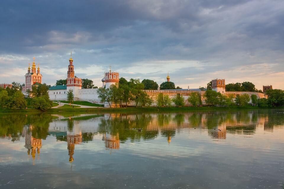 monastère monuments de moscou