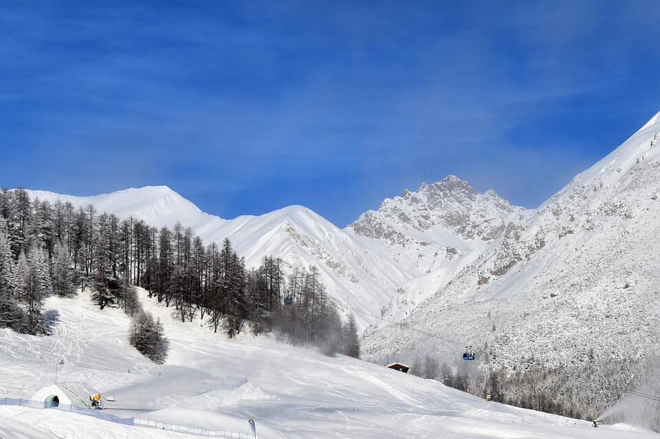 skier en France au mois de Mai