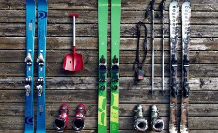 préparation ski valise skier en mai en france