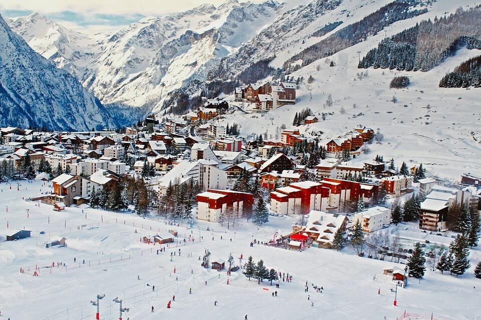 skier en France au mois de Mai station