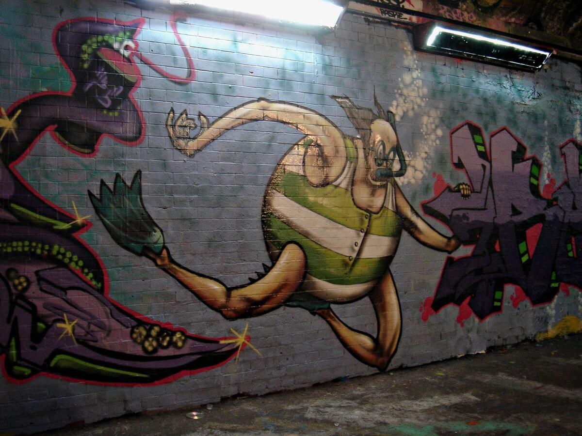 street art banksi londres insolite