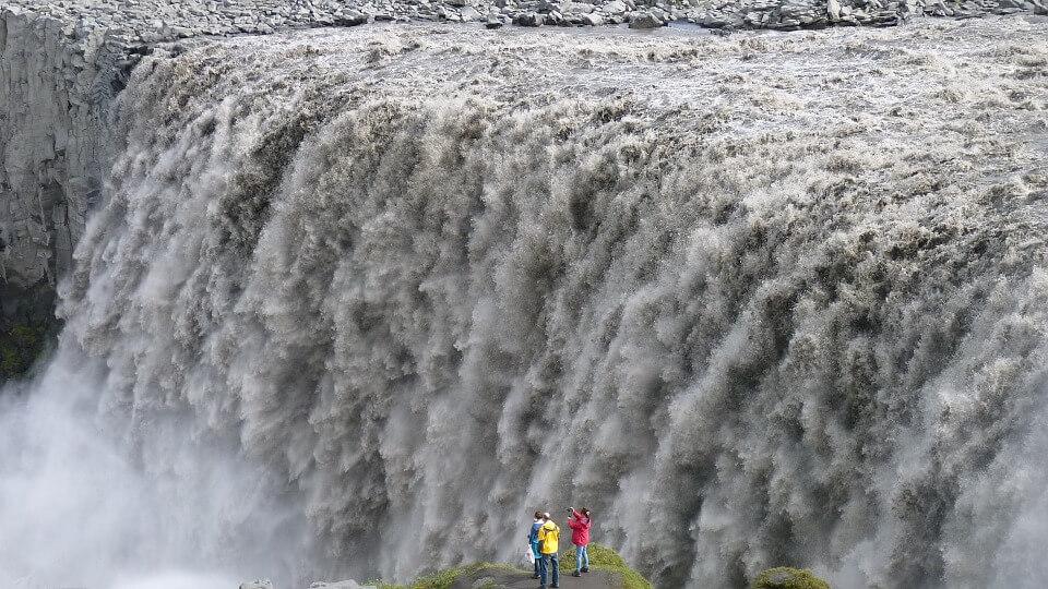 cascade dettifoss itineraire islande