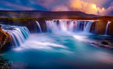 cascade godafoss islande itinéraire 2 semaines