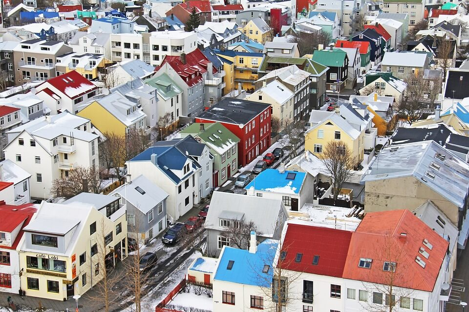 reykjavik maisons itinéraire islande