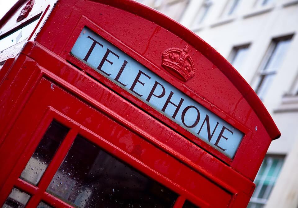 cabine téléphonique londres téléphone