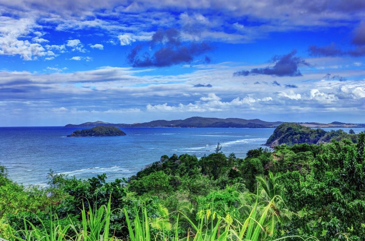 paysage martinique bord de mer saison des pluies martinique