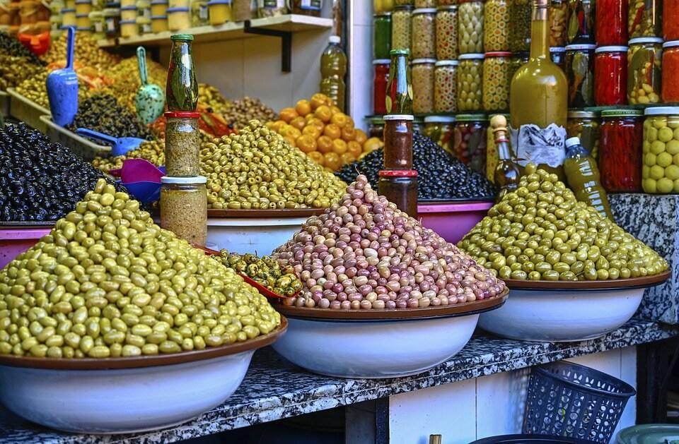 souk marrakech maroc voyage moto maroc