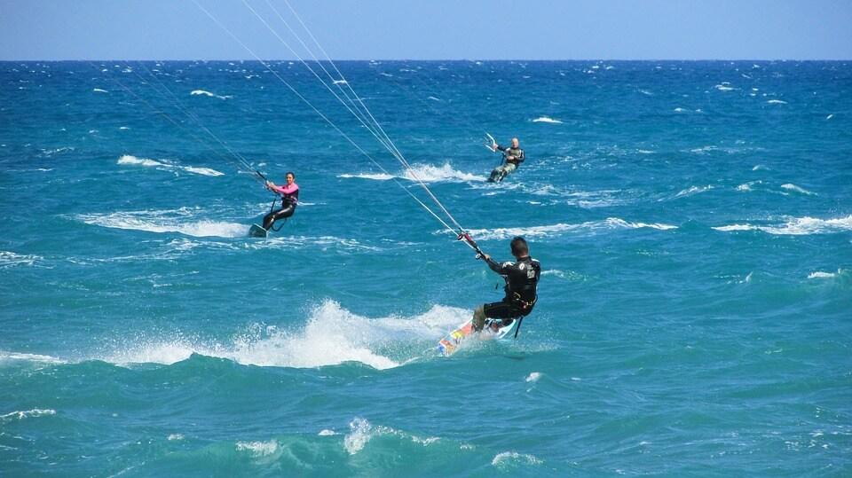 kitesurf à tenerife spot prisé