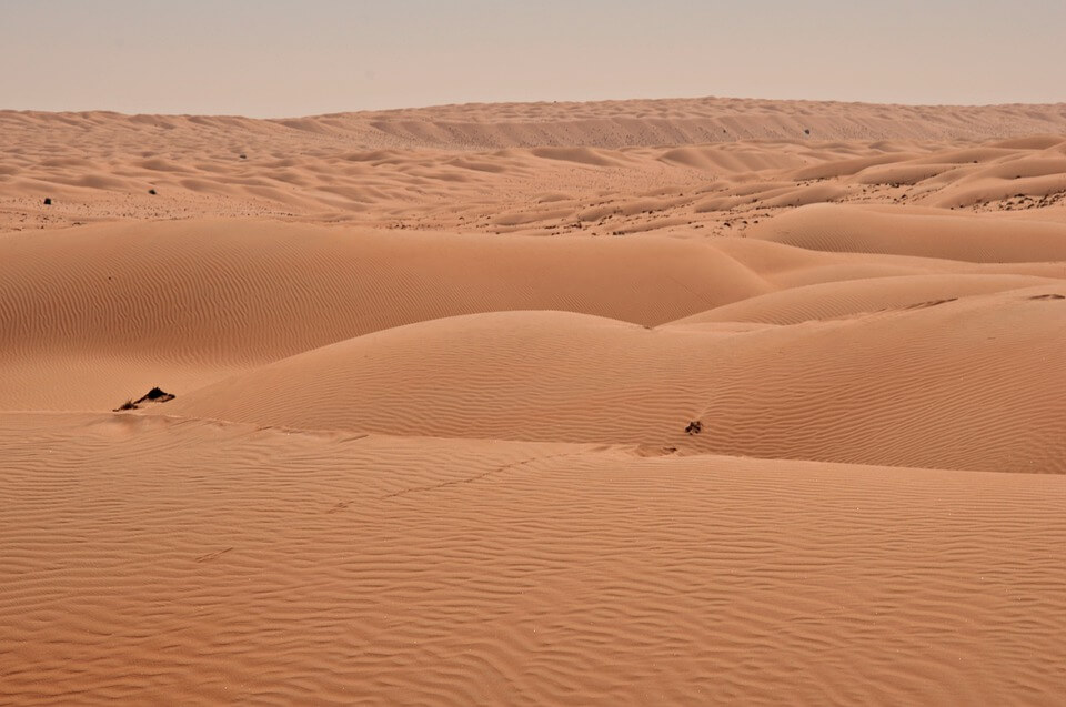 dunes desert oman