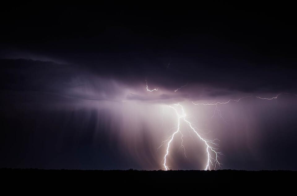 orage saison des pluies au Sénégal
