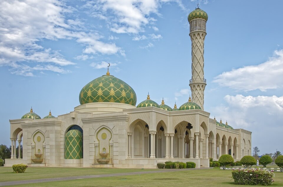 mosquee mascate oman