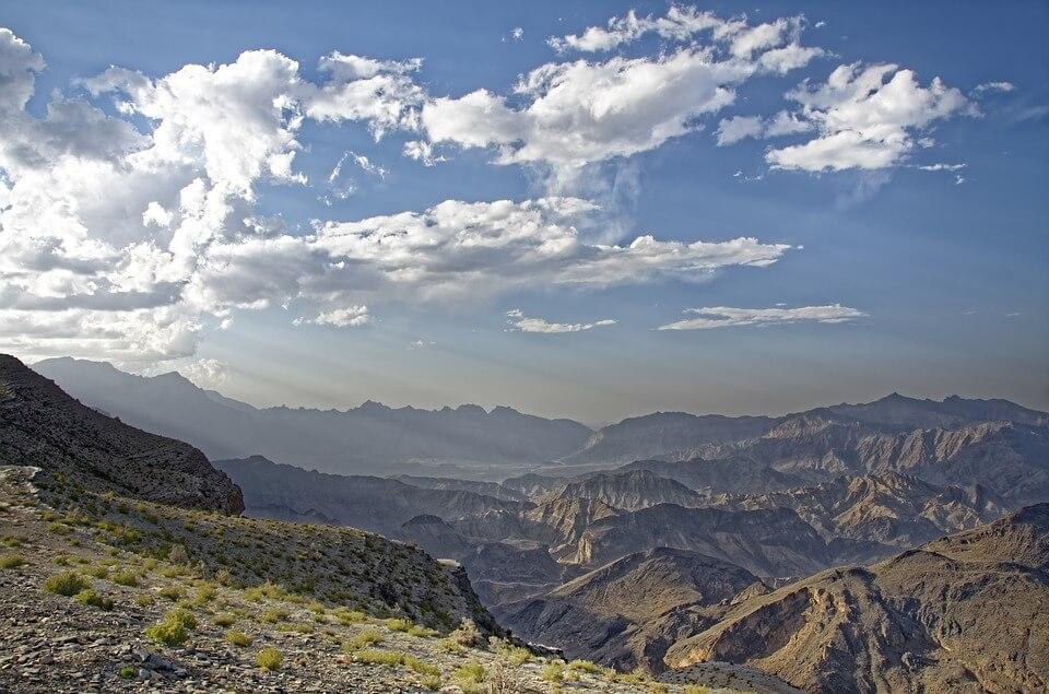montagnes oman