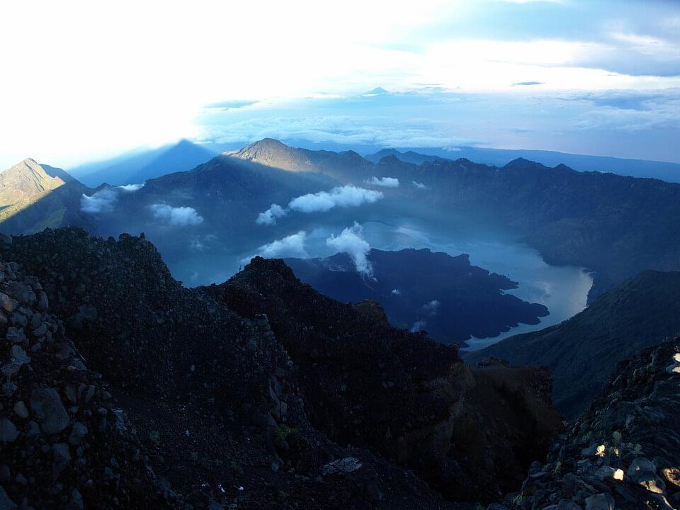 mont rinjani a lombok