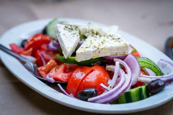 salade grecque gastronomie grece ou croatie
