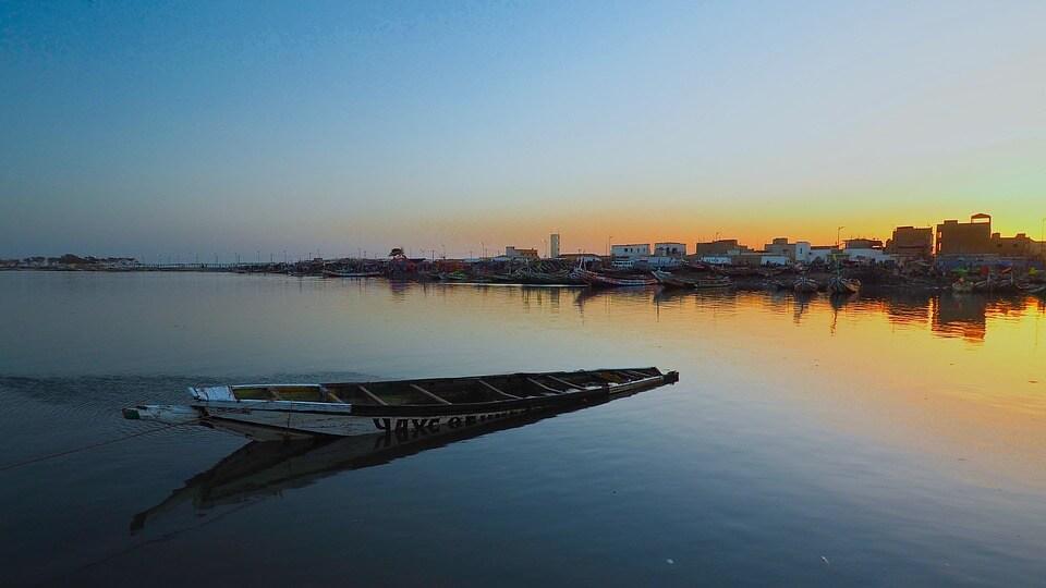 saison des pluies au Sénégal barque