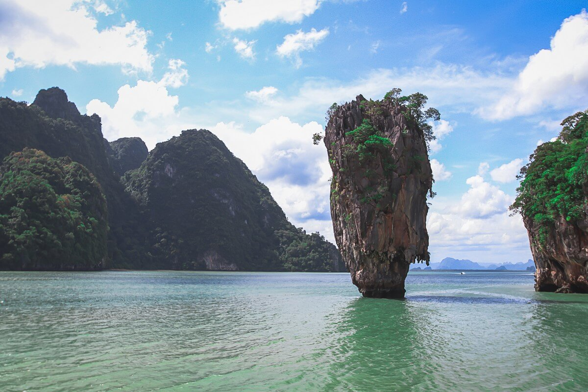 ile de james bond thailande