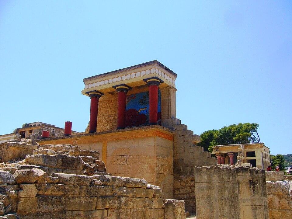 palais de knossos crete malte ou crete