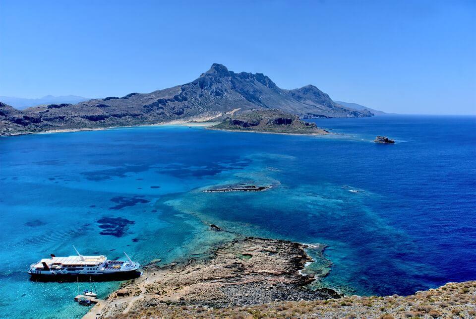 lagon de balos crete malte ou crete