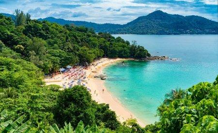 plage de phuket paysages phuket ou bangkok