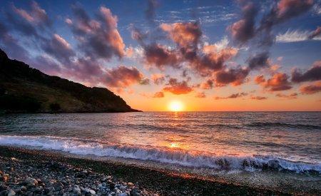 coucher de soleil a malte malte ou crete