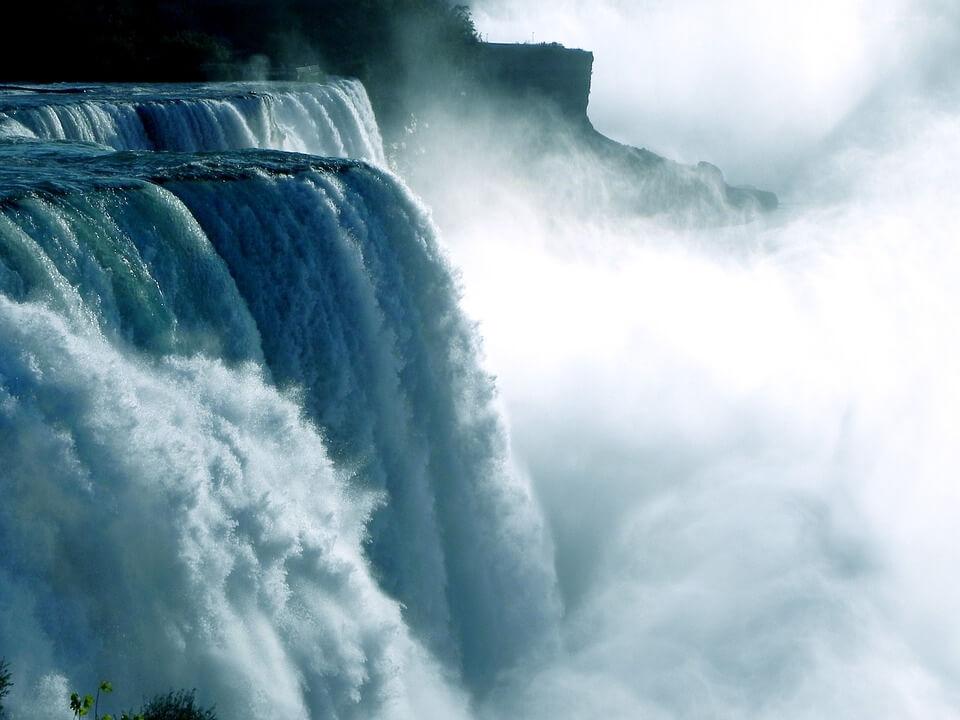 chutes du niagara canada ou états-unis