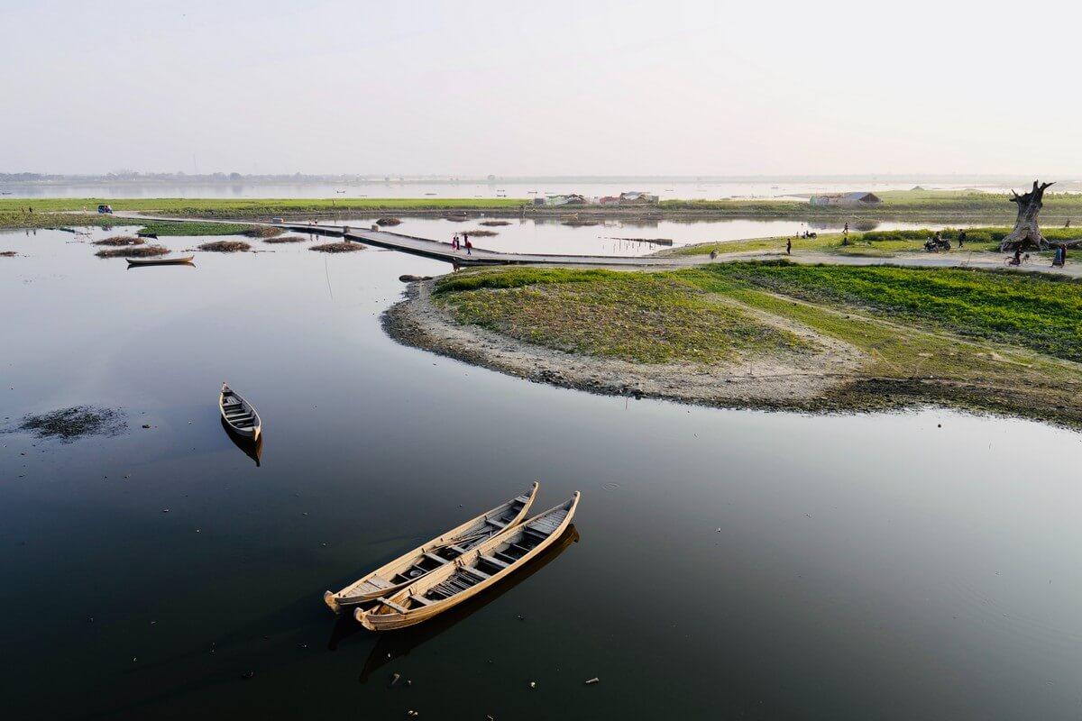 lac en Birmanie trek en Birmanie