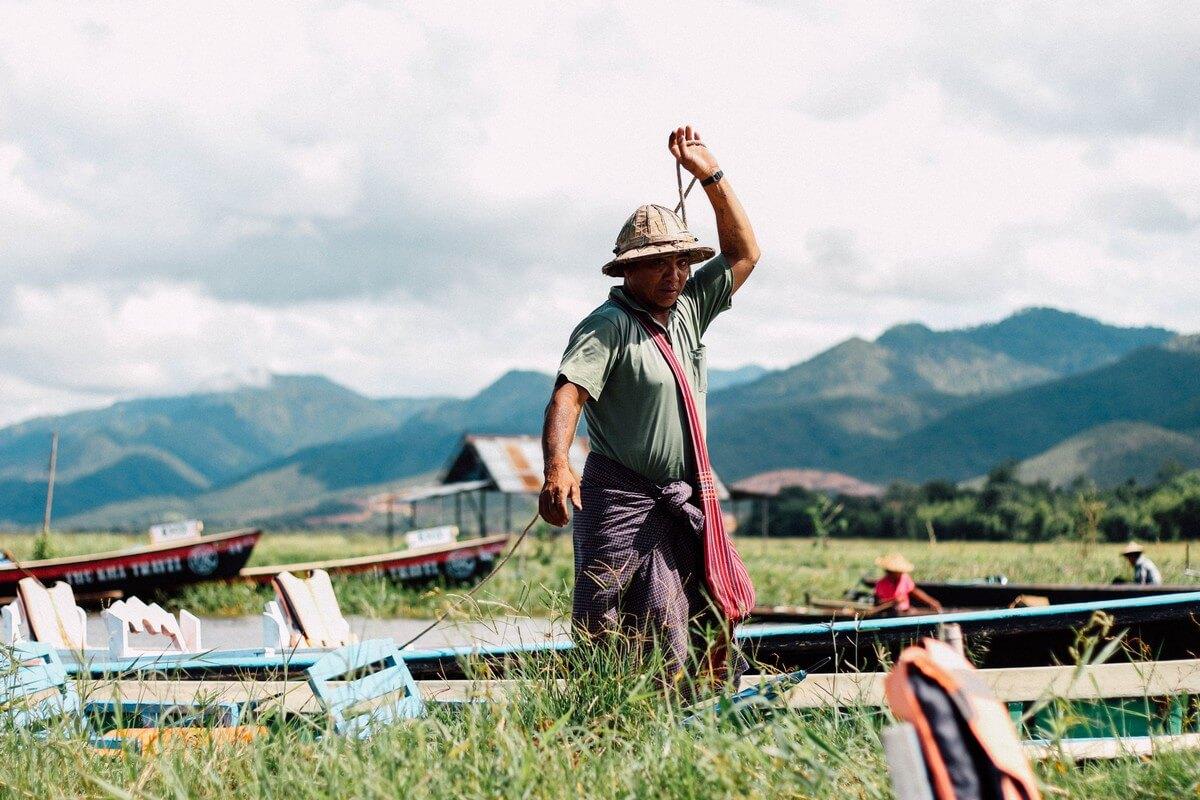 Birmanie pecheur trek en Birmanie