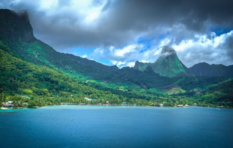 relief moorea polynesie