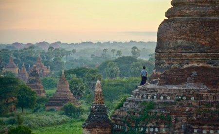 temple en Birmanie
