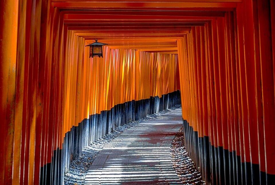 Torii Japon ou corée du Sud
