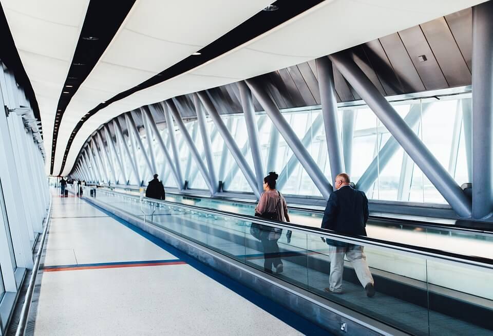 classement des aéroports passagers à pied