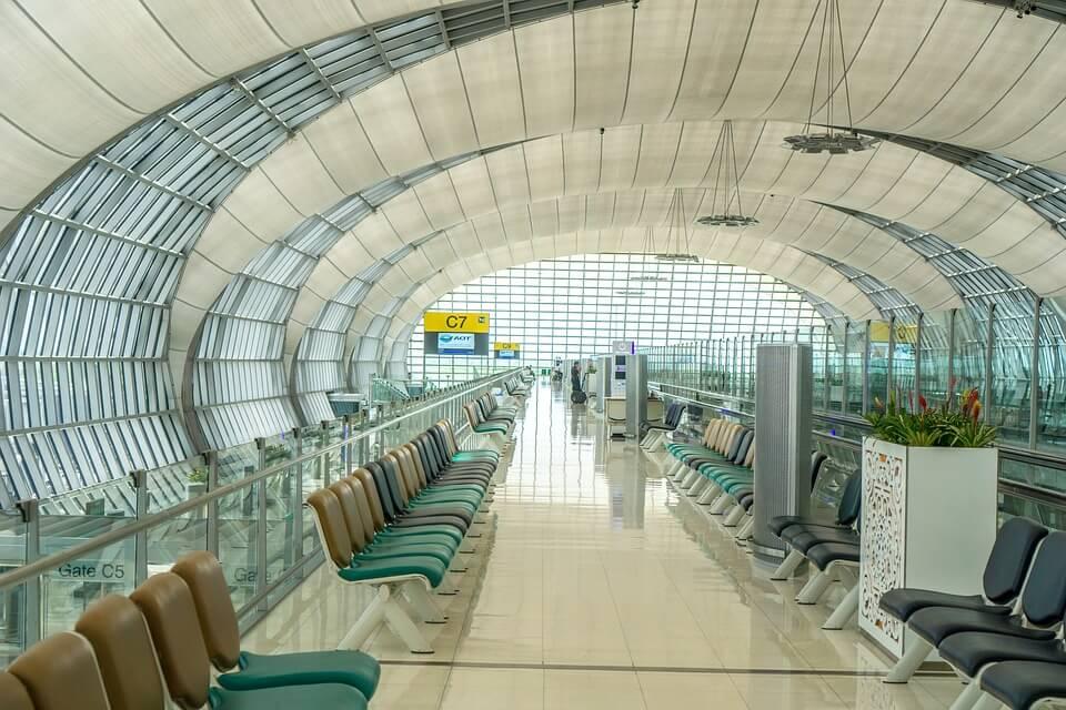 aéroport en asie