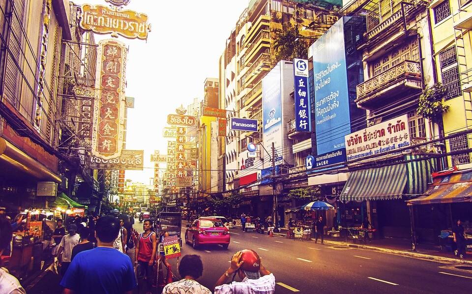 rues de Bangkok itinéraire 2 semaines en Thaïlande