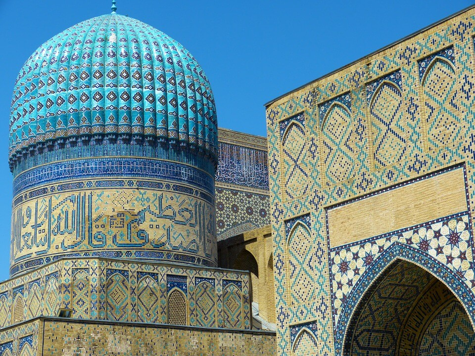 mosquée bibi xanom itinéraire 10 jours en ouzbékistan