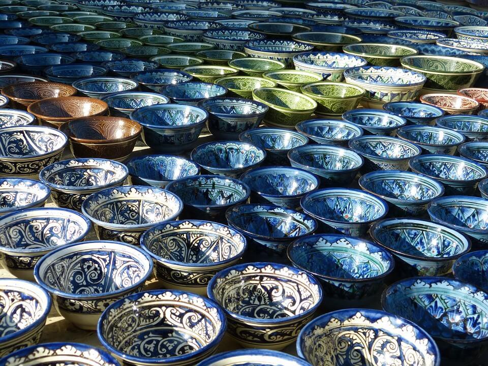 céramique itinéraire 10 jours en ouzbékistan