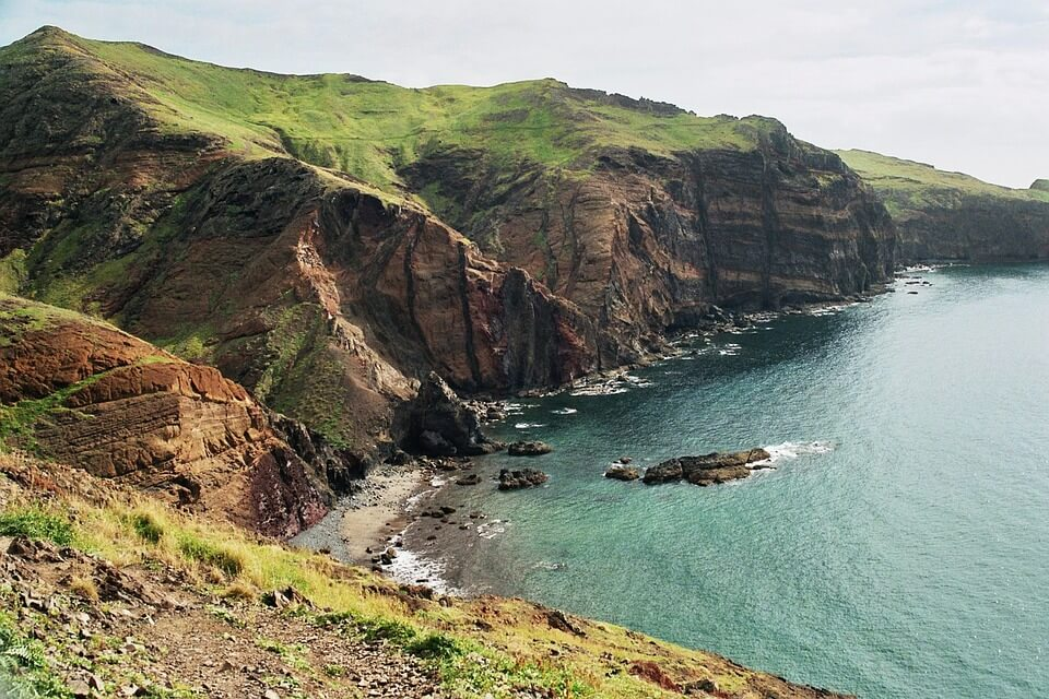 falaises de madère ou canaries