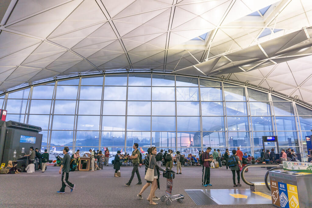 aéroport hong kong