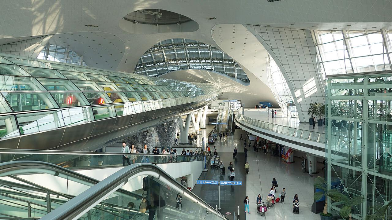 aéroport d'incheon seoul coree du sud classement des aéroports
