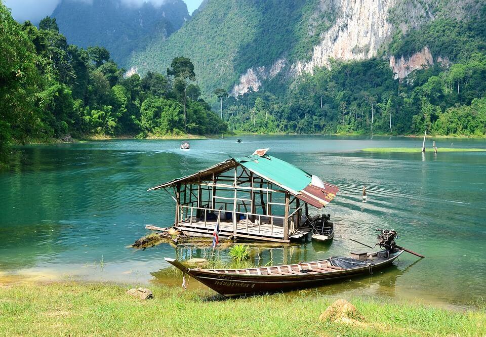 parc de Khao Sok lac barque itinéraire 2 semaines en Thaïlande