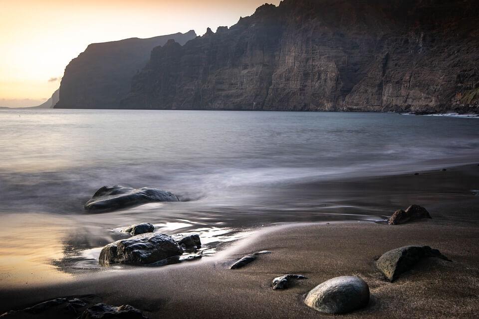 plage de los gigantes falaises tenerife