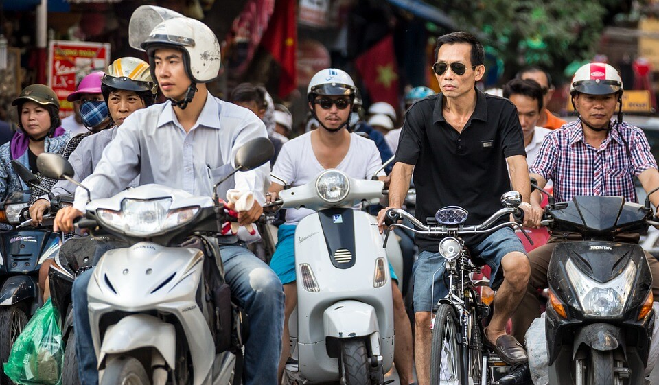 scooter vietnam accidents premier voyage en Asie