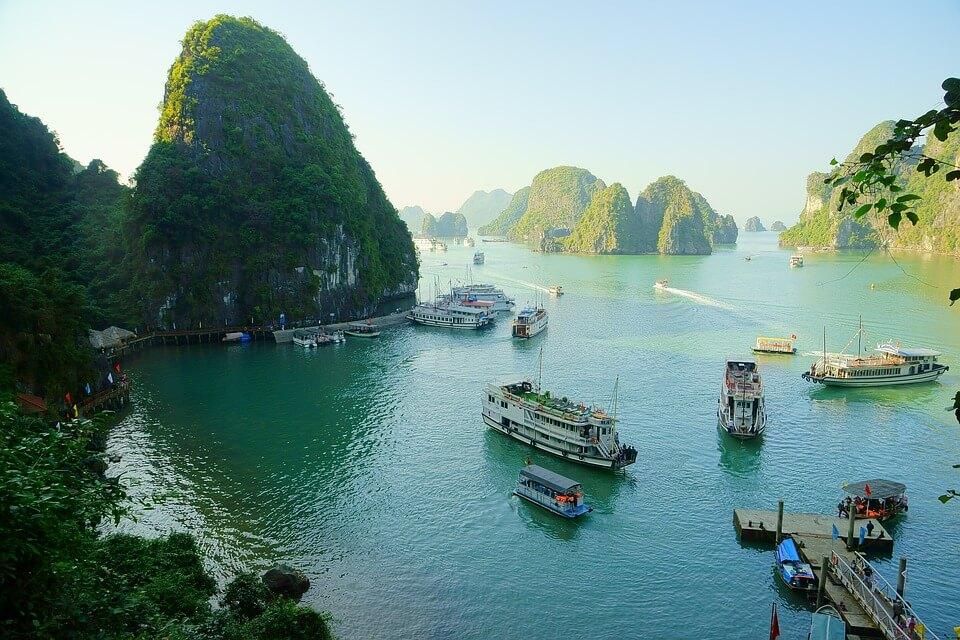 baie d'halong vietnam premier voyage en Asie