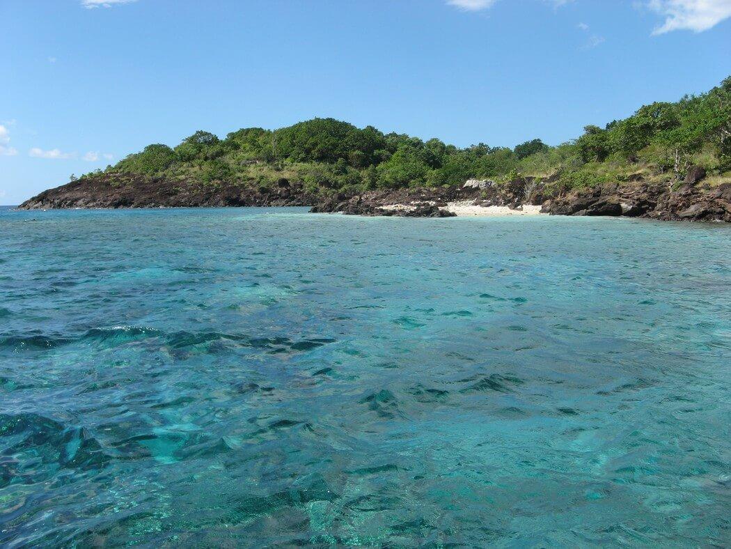 ilets pigeon plongee sous marine réserve cousteau en guadeloupe
