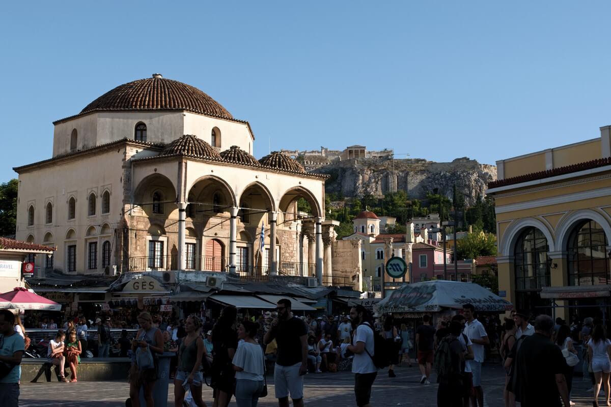 place de monastiraki que faire à Athènes