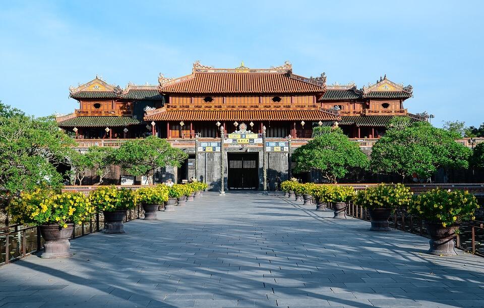 palais impérial de hué au vietnam
