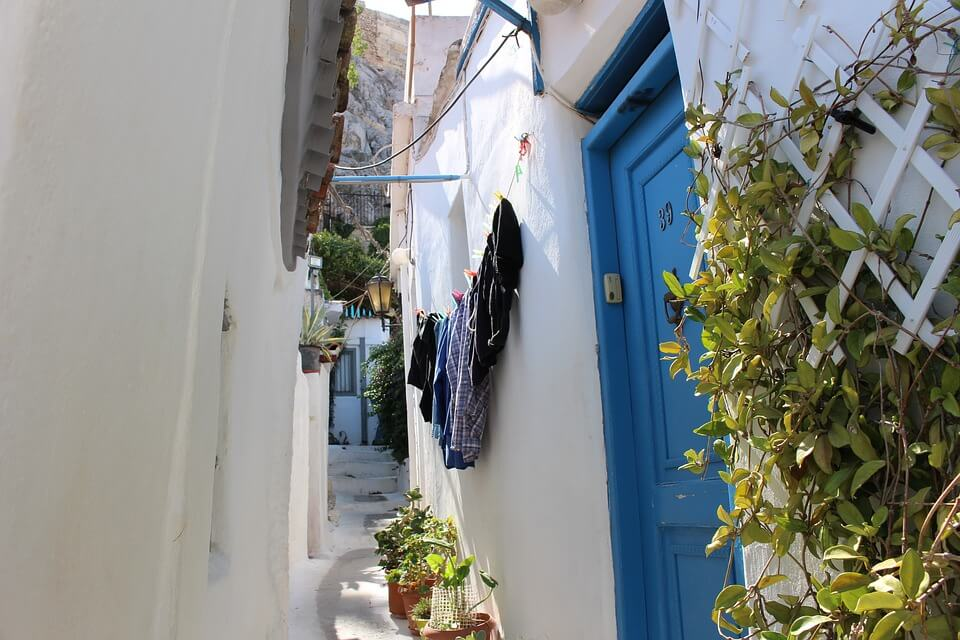 ruelle de plaka que faire à Athènes