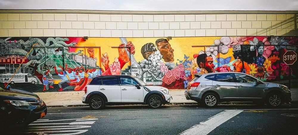 street art voitures new york insolite