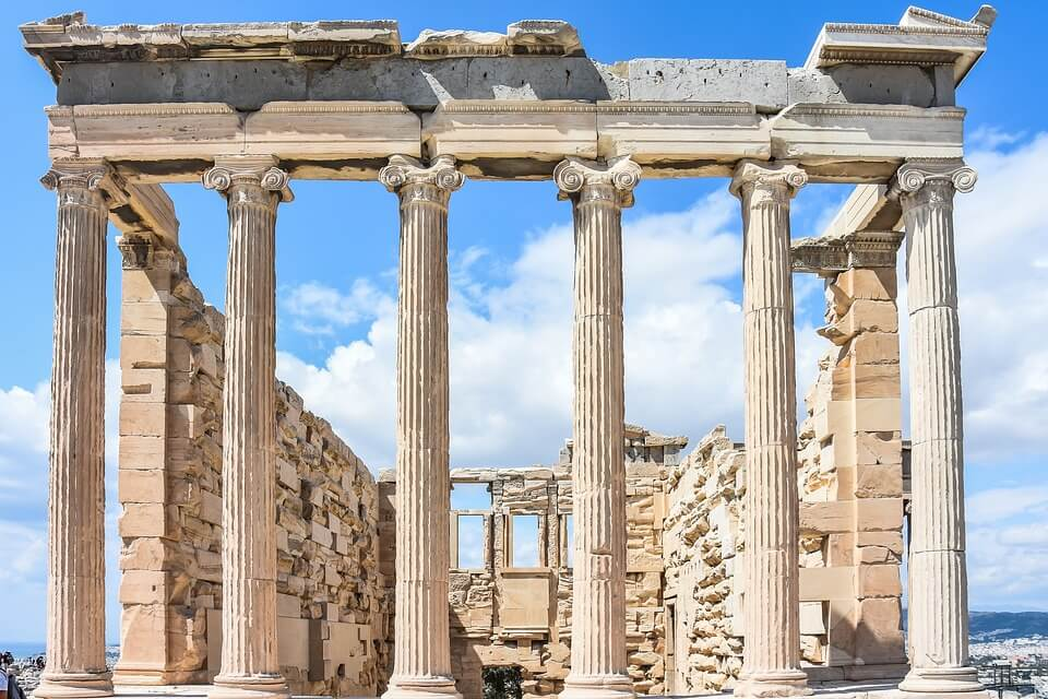 temple antique athenes