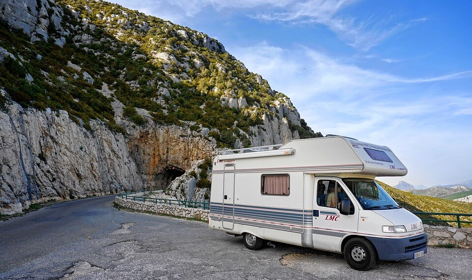 route rocher camping car portugal en camping-car